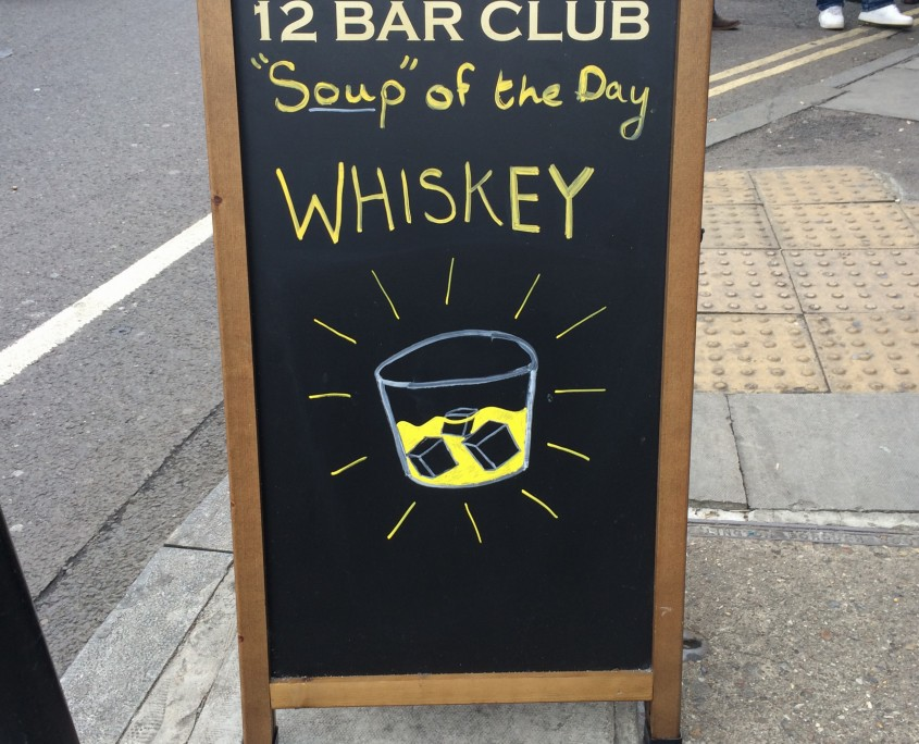 Whiskey-soup